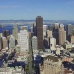 La ciudad de San Francisco a vista de dron