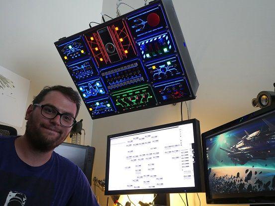 arduino-panel-control3 Un tablero de control espacial para tu ordenador con Arduino
