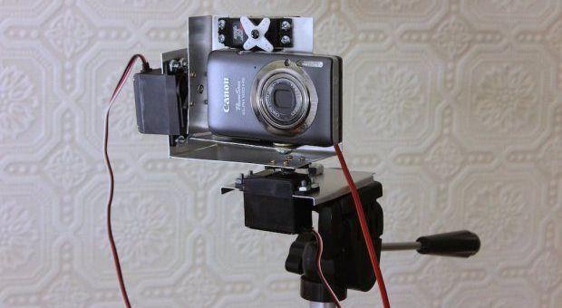 camara arduino - Construye una plataforma para hacer tus mejores fotos panorámicas