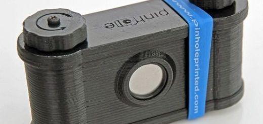 pinhole camara - Imprime en 3D una cámara fotográfica pinhole