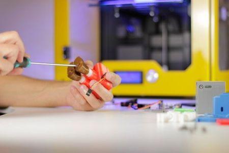 printocho2 450x300 - Printocho, un robot para enseñar a programar a los niños con Arduino