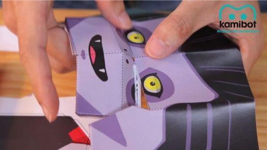 kamibot2 Kamibot, un robot de cartulina compatible con Arduino