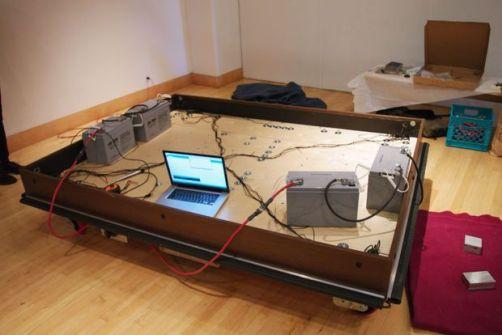 cama-arduino Una cama robot que se mueve autonomamente