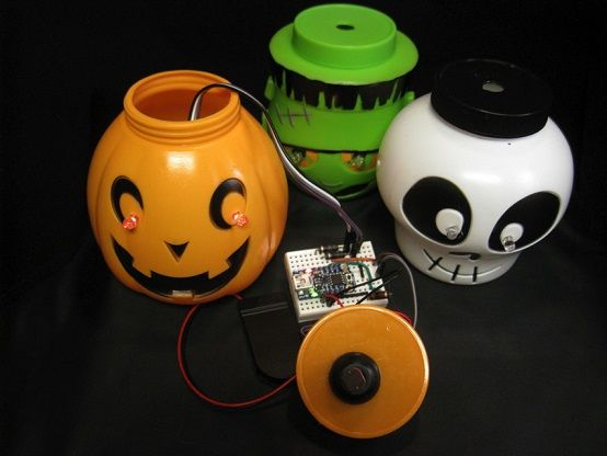 halloween_arduino_leds 6 Proyectos con Arduino para Halloween
