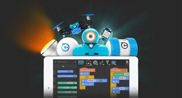 tickle - Tickle, programa fácilmente tus drones, juguetes inteligentes o Arduino