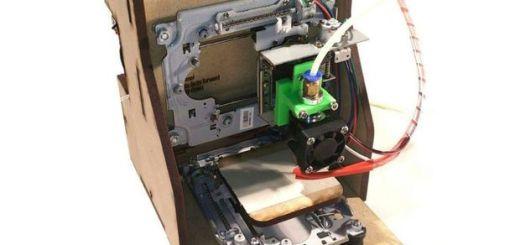 curiosity - Arduino te ayuda a construir esta impresora 3D por menos de 150 dolares