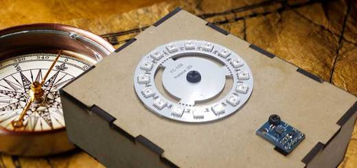 brujula arduino - Construye una brújula de LEDs con Arduino