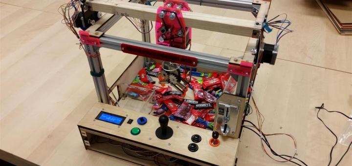 maquinita arduino - Construye y pasa un rato divertido con esta máquina de feria