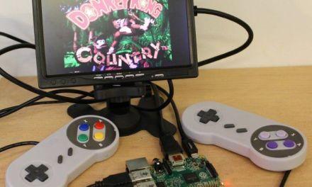 Construye una retro consola con tu Raspberry en menos de una hora