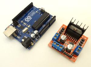 arduino-cesped Un jardinero robot impreso en 3D y basado en Arduino