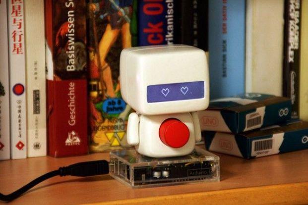 el niño2 675x450 - El Niño, un robot basado en arduino para San Valentín