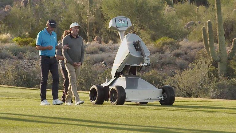 LDRIC, el robot que hace hoyo en un solo golpe
