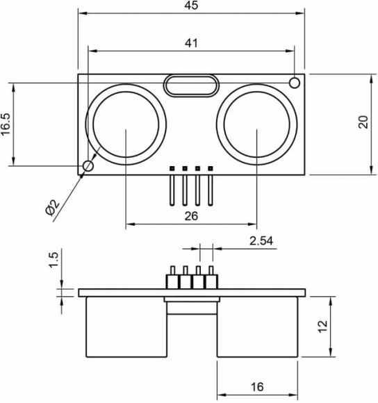 medidas HC SR04 - Tutorial Arduino: Sensor ultrasonidos HC-SR04
