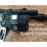 Réplica de pistola de Han Solo para cambiar de canal