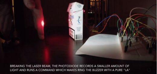 sistema de seguridad con Arduino