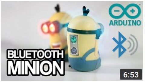 bluetooth minion - Arduino Minion, un adaptador para ratón y teclado por Bluetooth