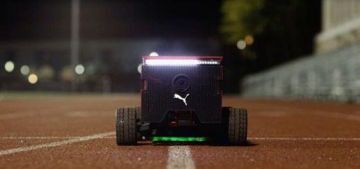 beatbotPUMA - Beatbot, el robot de PUMA con Arduino y más rápido que Usain Bolt