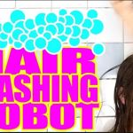 El robot para lavar el pelo, lo último de Simone Giertz