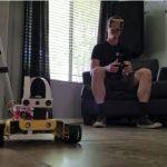 Un Rover con Realidad Virtual basado en Raspberry Pi