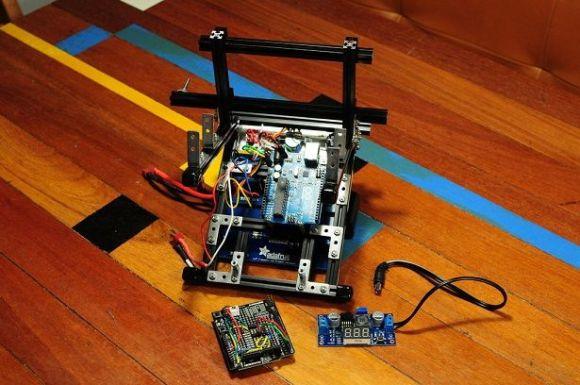 contador Un contador de vueltas para carreras con Arduino