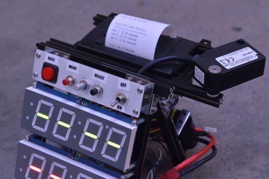 contadorimpre 677x450 - Un contador de vueltas para carreras con Arduino