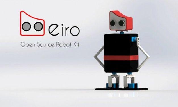 Eiro, robot educativo de código abierto compatible con Arduino