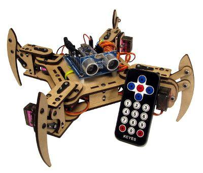 meped1 MePed, kit compatible con Arduino para construir tu propio robot