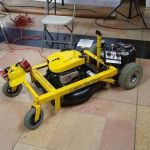 Da Vinci, un cortador de césped con Arduino y Raspberry Pi