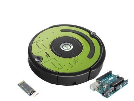 roombaarduino1 595x450 - Controla un robot Roomba con Arduino y Android