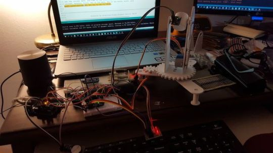 rastreador-de-estrellas1 Star Track, un rastreador de estrellas construido con Arduino