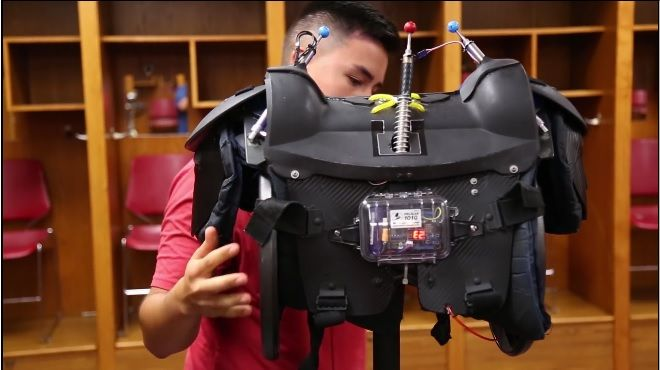 sistema seguridad arduino1 - Un sistema para prevenir lesiones en el fútbol americano con Arduino