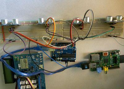 sistemainteligente2 Construye un sistema inteligente de aparcamiento