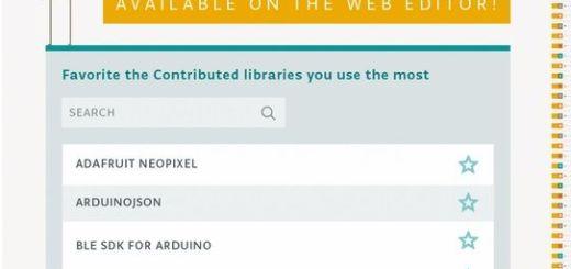 arduinowebeditor - Arduino Library Manager ya está disponible a través de Online Web Editor