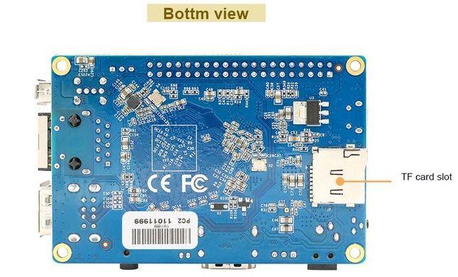 orangepipc2bottom Orange Pi PC 2, la nueva versión del mini PC de 20 dólares.