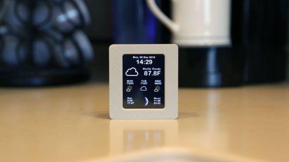 estacion meteorologica1 - Cómo hacer una estación meteorológica arduino con WiFi y pantalla