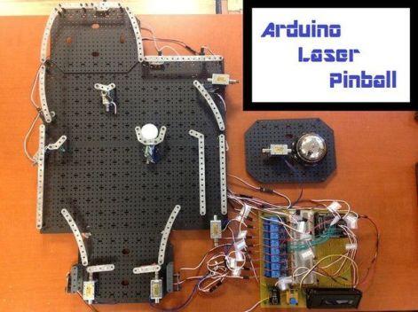 pinball-arduino1-602x450 Construye un juego de Pinball Láser con Arduino