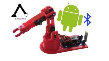LittleArm-2C LittleArm 2C, un mini brazo robot para educación y para makers