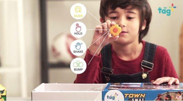 Tag+ for Kids, un botón inteligente para conectar juguetes