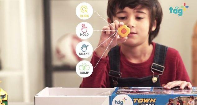 conectar juguetes