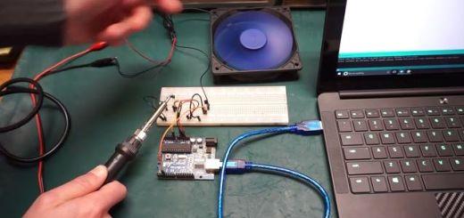 ventilador - Controla la velocidad de un ventilador según la temperatura con Arduino