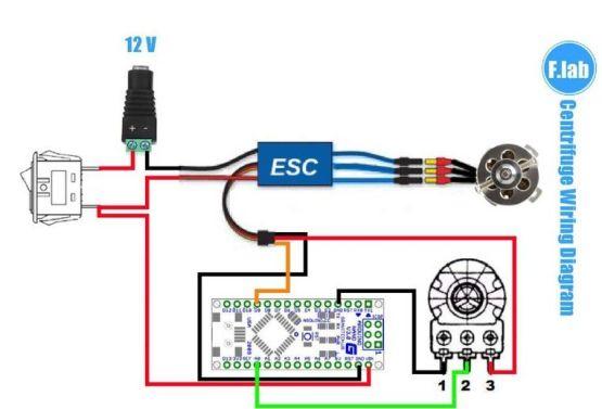 centrifugadora2 661x450 - Extrae ADN en casa con esta centrifugadora fabricada con impresión 3D y Arduino