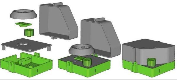 centrifugadora3 Extrae ADN en casa con esta centrifugadora fabricada con impresión 3D y Arduino