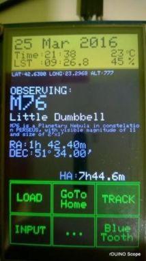 telescopio arduino2 252x450 - rDUINOScope, descubre el espacio con tu telescopio y Arduino
