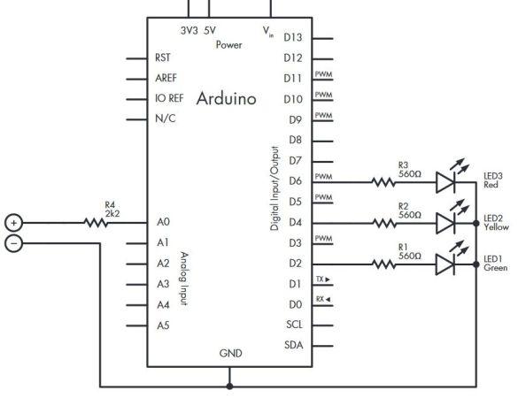 testeador-de-baterias-585x450 Cómo construir un sencillo testeador de baterías