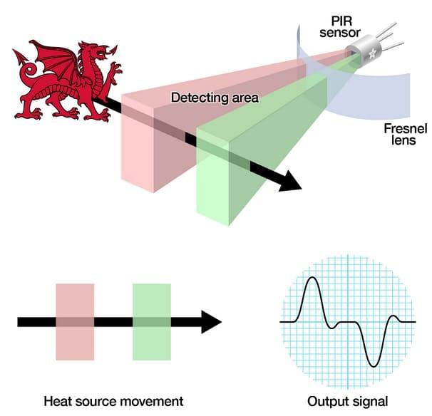 sensor PIR como funciona - Tutorial para saber como se usa un sensor de movimiento PIR