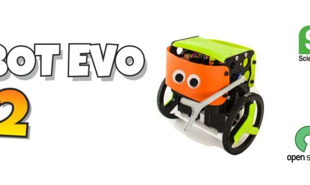 B-Robot Evo 2, robot compatible Arduino con piezas imprimibles en 3D