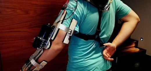exoesqueleto arduino - Construye un brazo Exo esqueleto por menos de 100 euros con Arduino