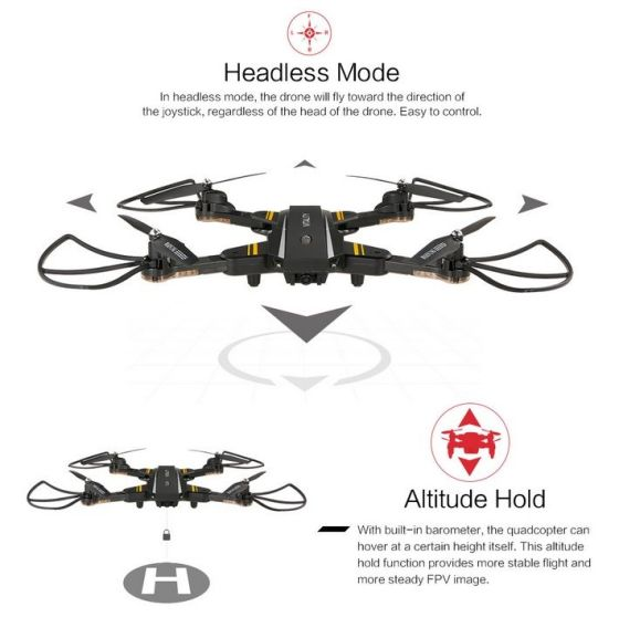 TKKJ TK116W 2 - TKKJ TK116 Vitality, un drone muy completo a muy buen precio, análisis