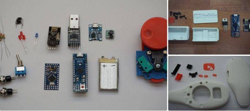 youtube ardiuno 800x357 - Construye un control remoto para YouTube y Netflix con Arduino e impresión 3D