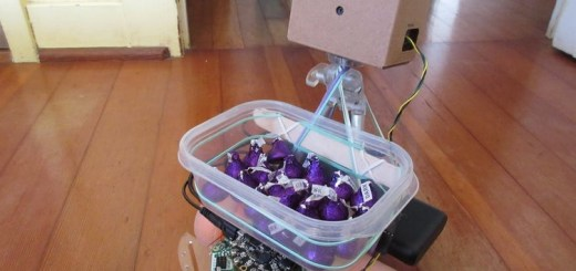 chocorobo robot autonomo